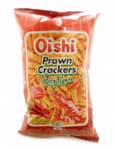 Oishi Spicy Prawn Crackers | Buy Online at the Asian Cookshop